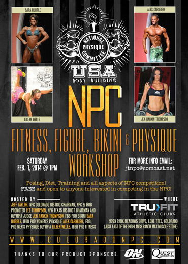 NPC Workshop: February 1, 2014